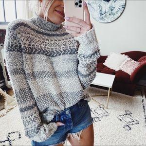 Chaps Vintage Oversized Light Sweater